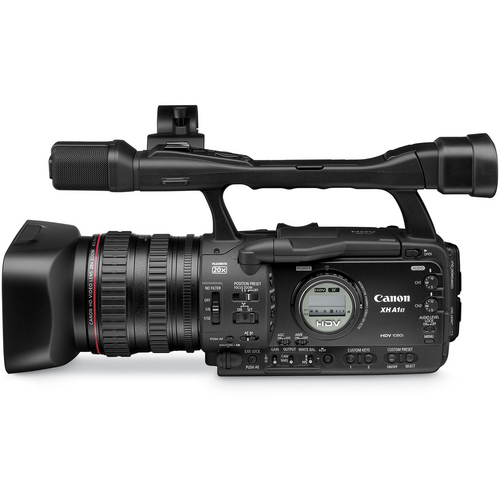 Canon Video Camcorder side view XH-A1
