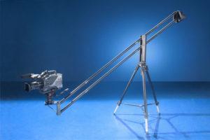 video crane with camera