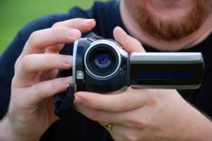home movie camera