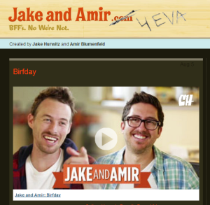 jake and amir online video comedy duo