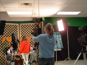 tv studio high school video production