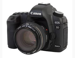 canon dslr 5d mark II camera