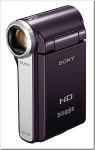Sony Bloggie HD video camera