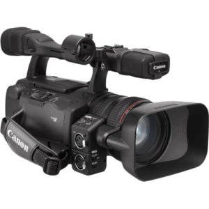 Canon video camcorder