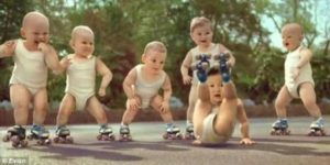 roller babies viral video ad campaign