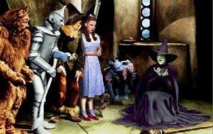 wicked witch of the west melts
