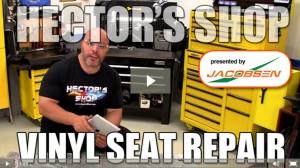 image of video on repairing seats