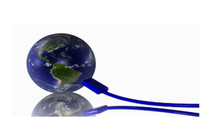 earth connected to usb cable