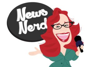 news nerd drawing