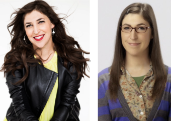 actress mayim bialik and her character amy farrah fowler